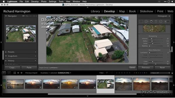 Using Adobe Camera Raw to fix color for raw files: Editing GoPro HERO Photos and Videos with Lightroom and Photoshop
