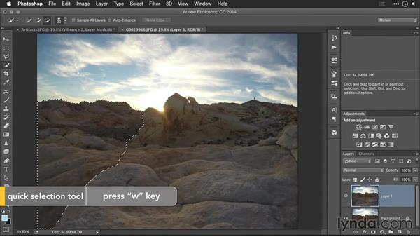 Removing compression artifacts: Editing GoPro HERO Photos and Videos with Lightroom and Photoshop