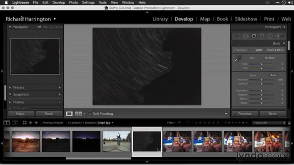 Cropping to a target size: Editing GoPro HERO Photos and Videos with Lightroom and Photoshop