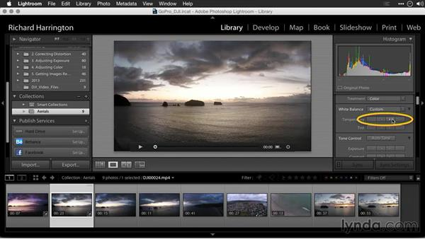 Enhancing video with Lightroom: Editing GoPro HERO Photos and Videos with Lightroom and Photoshop