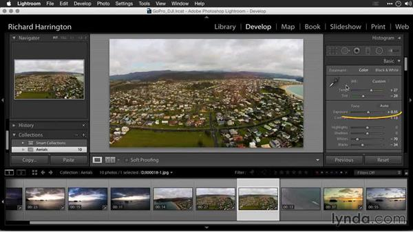Saving quick Develop presets in Lightroom: Editing GoPro HERO Photos and Videos with Lightroom and Photoshop