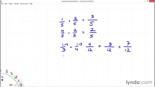Operations with fractions: Everyday Math Fundamentals