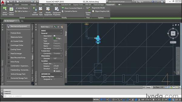 Incorporating valves: Creating Sprinkler and Fire-Alarm Systems with AutoCAD