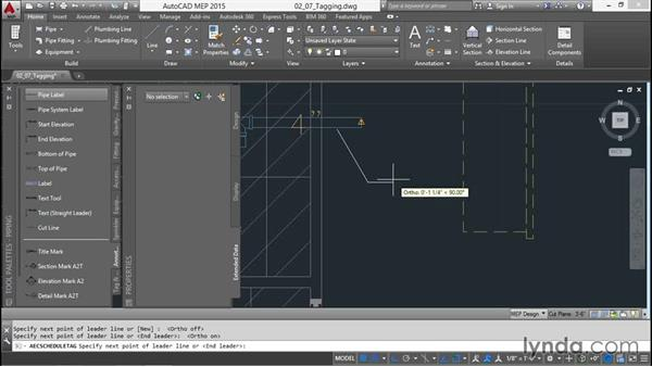 Tagging the pipes: Creating Sprinkler and Fire-Alarm Systems with AutoCAD