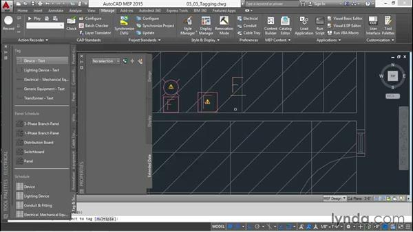 Tagging the devices: Creating Sprinkler and Fire-Alarm Systems with AutoCAD