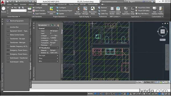 Adding the conduit: Creating Sprinkler and Fire-Alarm Systems with AutoCAD