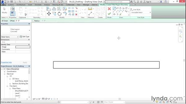 Adding drafting views: Fire-Alarm Systems Design with Revit