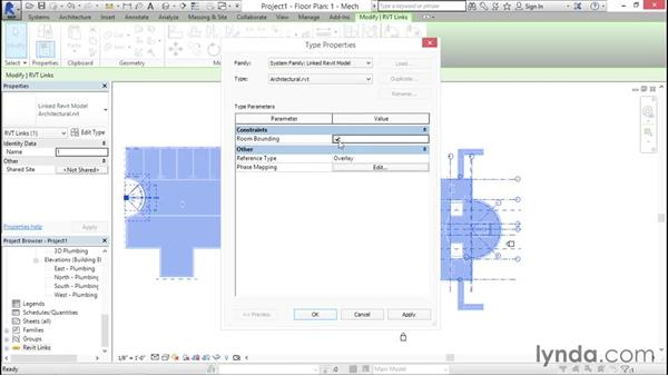 Linking the architecture: Sprinkler Design with Revit
