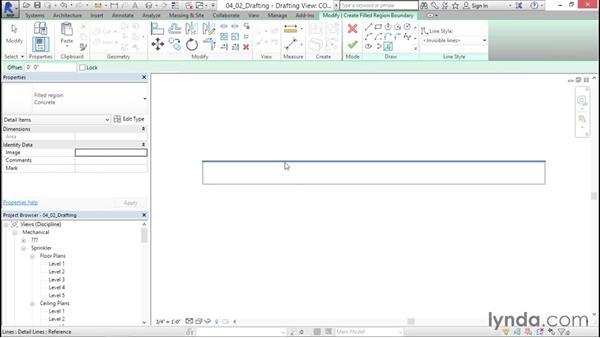 Adding drafting views: Sprinkler Design with Revit