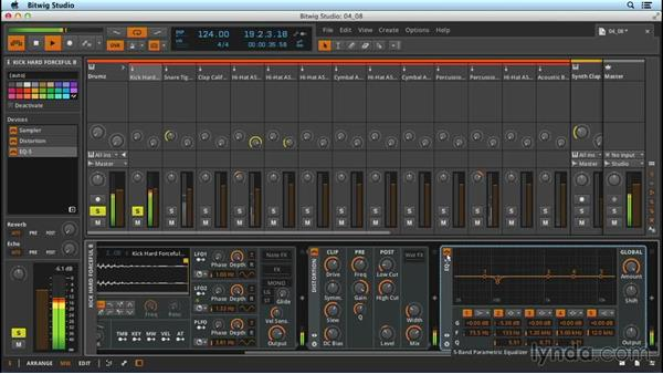 Equalization (EQ): Up and Running with Bitwig Studio