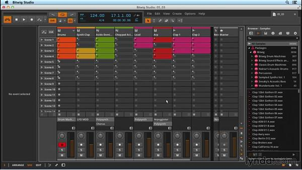 Saving and archiving: Up and Running with Bitwig Studio