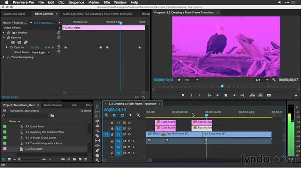 Welcome: Premiere Pro Guru: Better Transitions