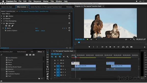 The layered transition stack: Premiere Pro Guru: Better Transitions