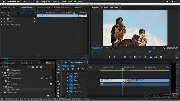 A better cross-zoom: Premiere Pro Guru: Better Transitions