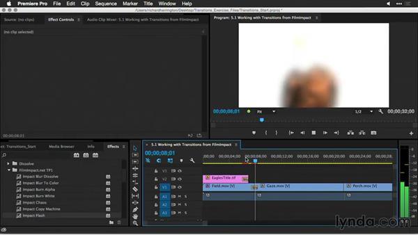 FilmImpact: Premiere Pro Guru: Better Transitions