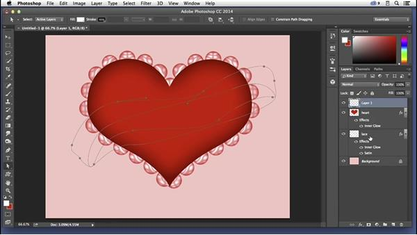 Creating a Valentine's Day card: Pixel Playground