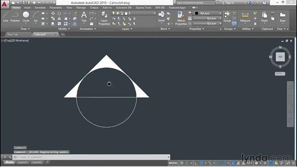 Adding attributes with placeholding fields to the callout: Creating Sheet Sets with AutoCAD