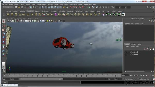 Rendering images and movies: Getting Started in 3D and Animation