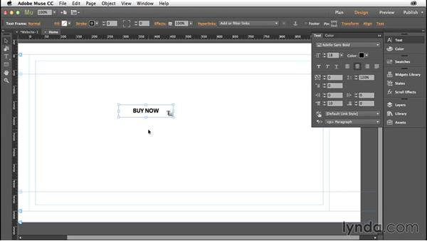 How to create buttons in Muse: Creative Quick Tips