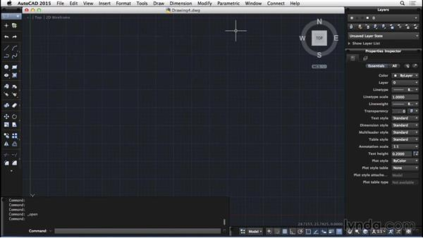 Opening files: AutoCAD for Mac 2015 Essential Training