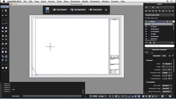 Templates: AutoCAD for Mac 2015 Essential Training