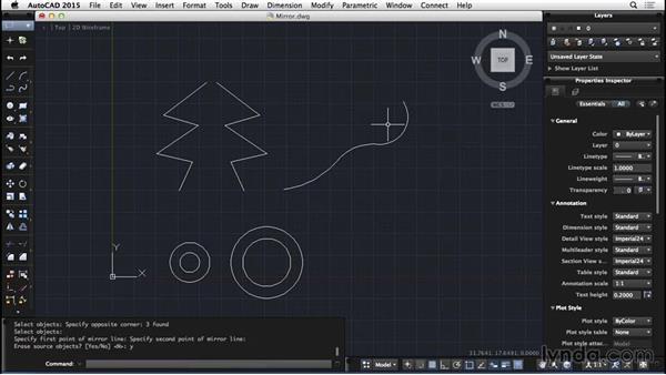 Mirror: AutoCAD for Mac 2015 Essential Training