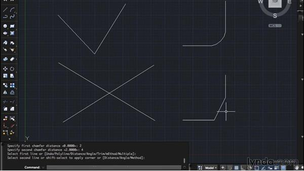 Fillet and Chamfer: AutoCAD for Mac 2015 Essential Training