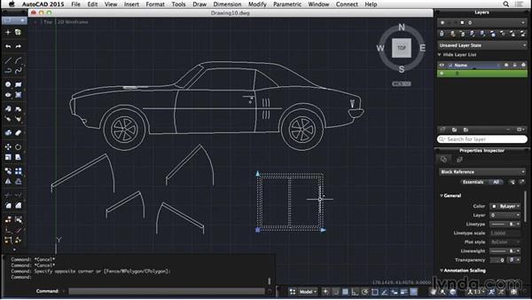 Dynamic blocks: AutoCAD for Mac 2015 Essential Training