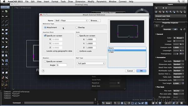 External references: AutoCAD for Mac 2015 Essential Training