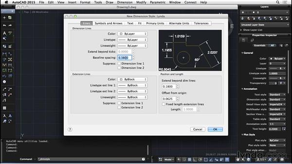 Dimension styles: AutoCAD for Mac 2015 Essential Training