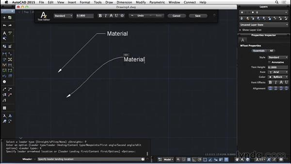 Leaders: AutoCAD for Mac 2015 Essential Training