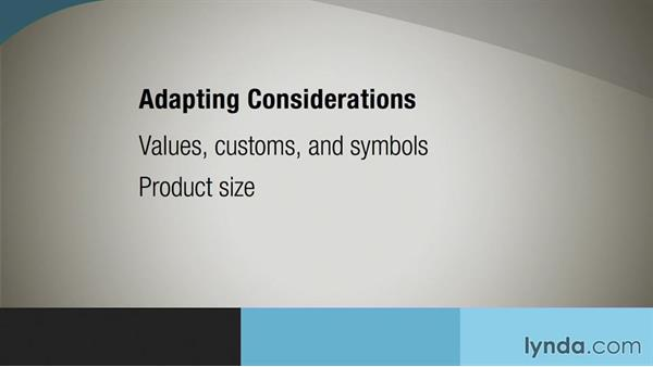 Product modifications . . . don't forget the packaging: International Marketing Fundamentals