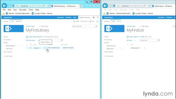 Creating and modifying site libraries and lists: SharePoint 2013 Site and Collection Administration