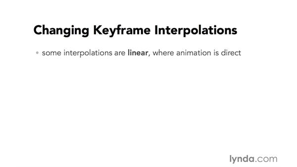 Introduction to changing keyframe interpolations: Video Post Tips Weekly