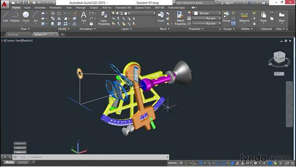 Visualizing the model: Documenting AutoCAD 3D Models