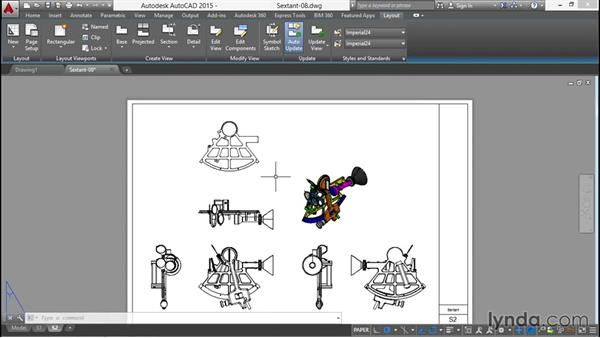 Creating new base drawings from selected objects: Documenting AutoCAD 3D Models