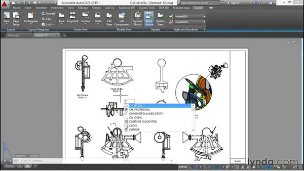 Labeling all projected drawings: Documenting AutoCAD 3D Models