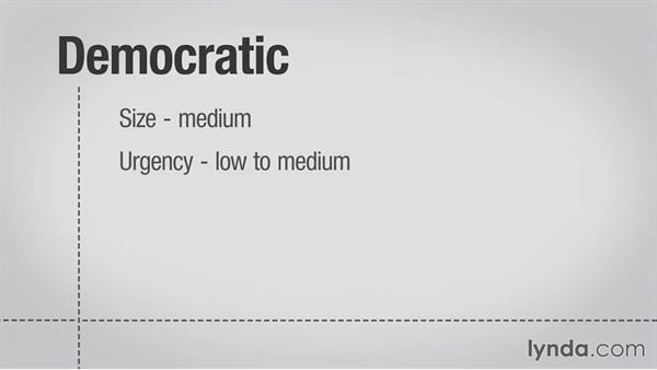 Making democratic decisions: Decision-Making Fundamentals