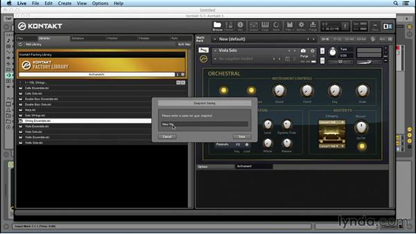 Understanding instrument interfaces and the Instrument Header: Up and Running with KONTAKT 5