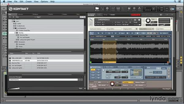 Looping: Up and Running with KONTAKT 5