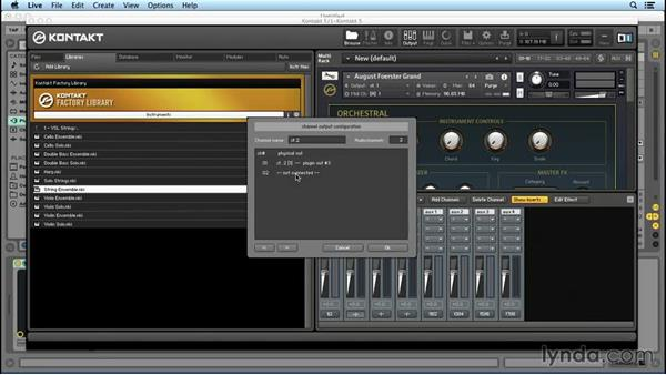 Routing: Up and Running with KONTAKT 5