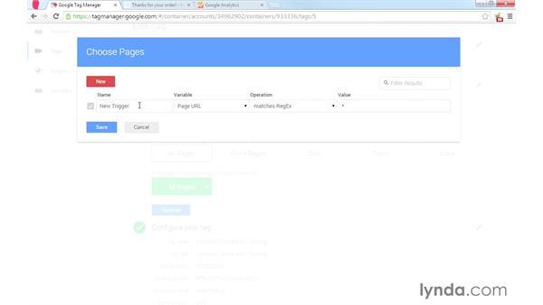 Understanding triggers: Google Tag Manager (V2) Essential Training