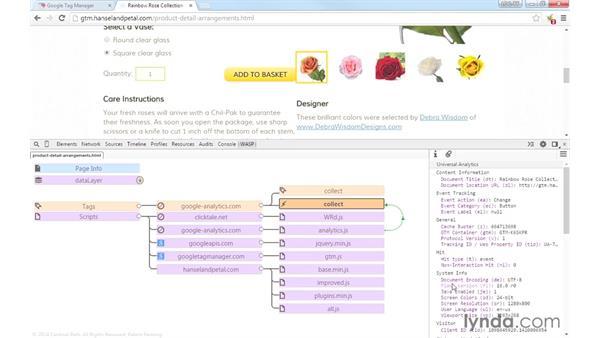 Using WASP to debug: Google Tag Manager (V2) Essential Training