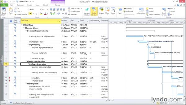 Sharing project information in other ways: Microsoft® Project 2010 Essential Training