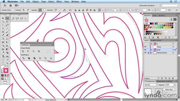 Uniting vector shapes: Artist at Work: Native American Tribal Illustration