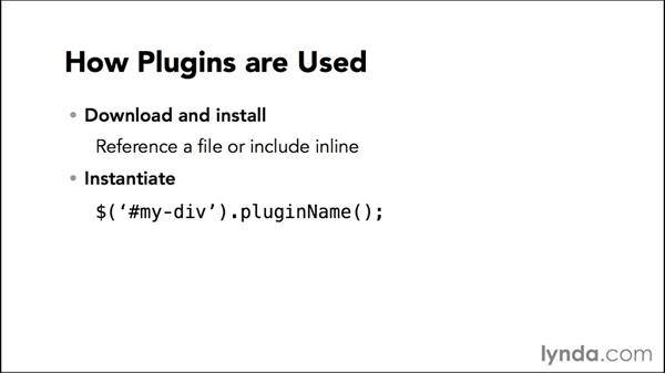 Understanding how jQuery plugins are used: jQuery: Creating Plugins