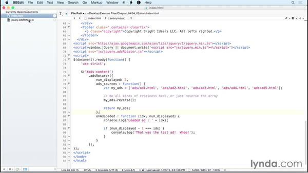 Responding to events using functions: jQuery: Creating Plugins