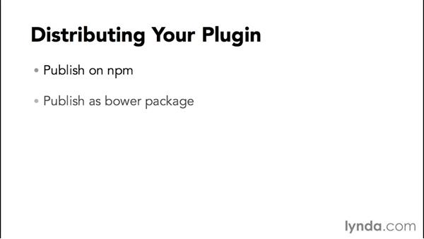 Distributing your plugin to the world: jQuery: Creating Plugins