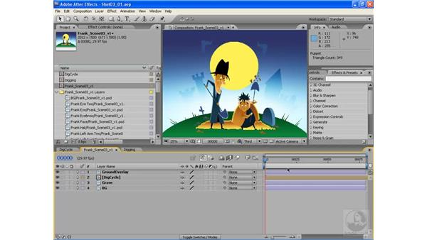 Dig cycles pt. 1: Introduction: After Effects CS3: Animating Characters