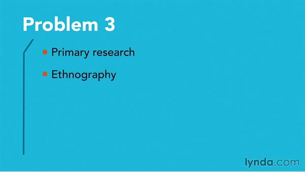 Solution: Choose which research methods to use: Foundations of Design Research